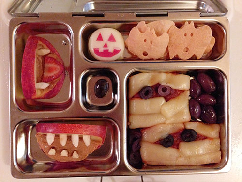 Halloween Lunch Inspiration Bento Box
